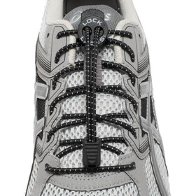 Lock Laces Run Laces svart